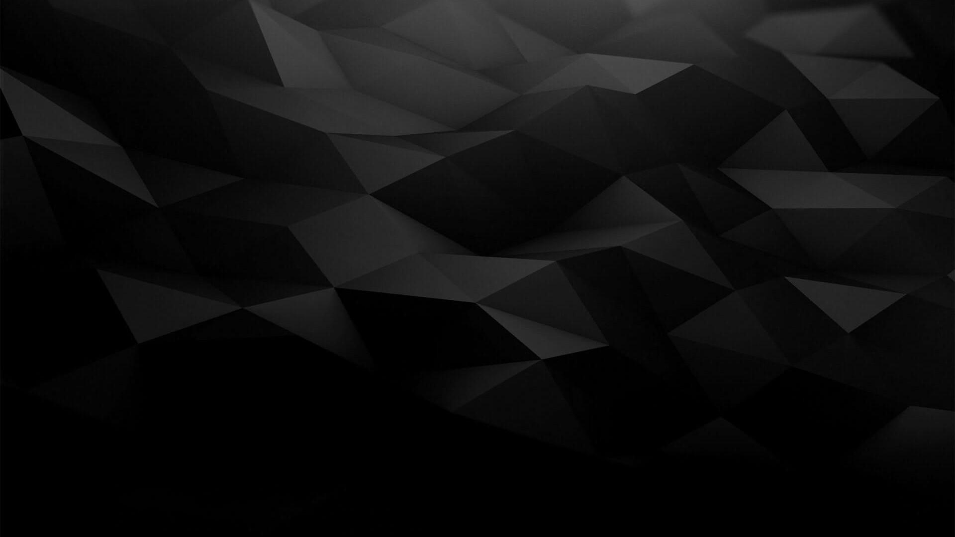 black poly background