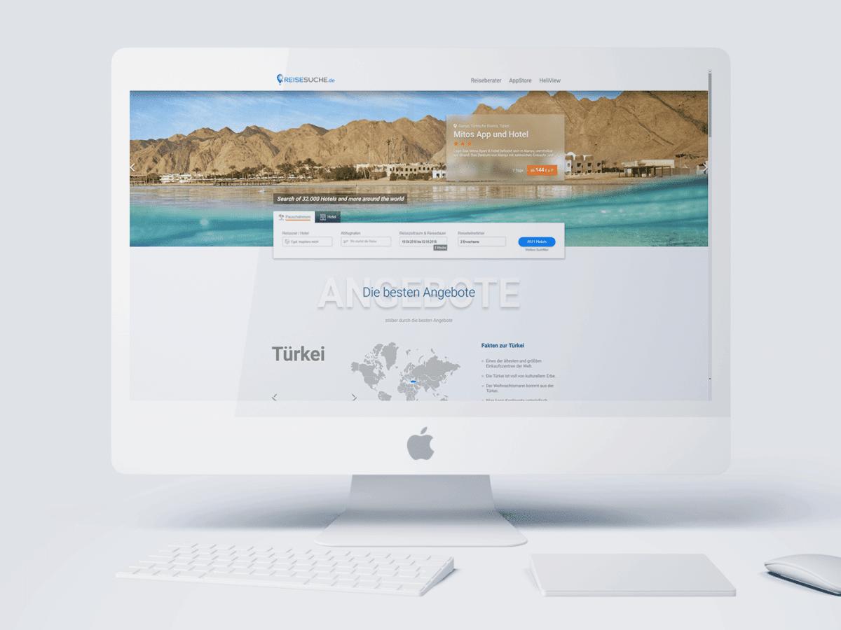 reisesuche iMac
